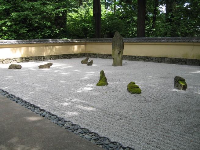 Portland Japanese gardens zen garden e1304851472932 A japánkert művészete