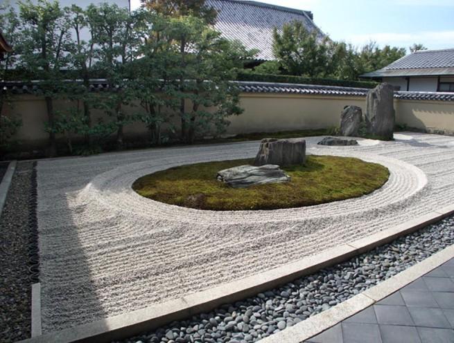 Ryogenin Zen Garden e1304851419952 A japánkert művészete