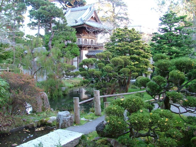 San Fran Tour Japanese Tea Gardens 7 e1304853160551 A japánkert művészete