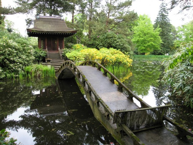 Shinto Shrine Tatton Park 181 e1304847577607 A japánkert művészete