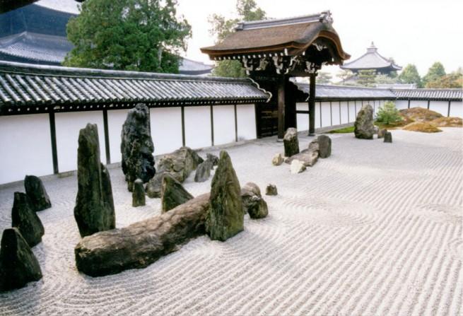 Tofukuji Zen Rock Garden e1304846312558 A japánkert művészete