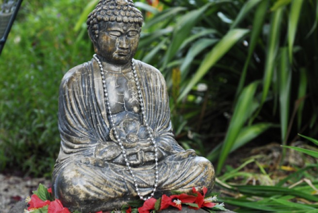 buddha e1304872767256 A japánkert művészete