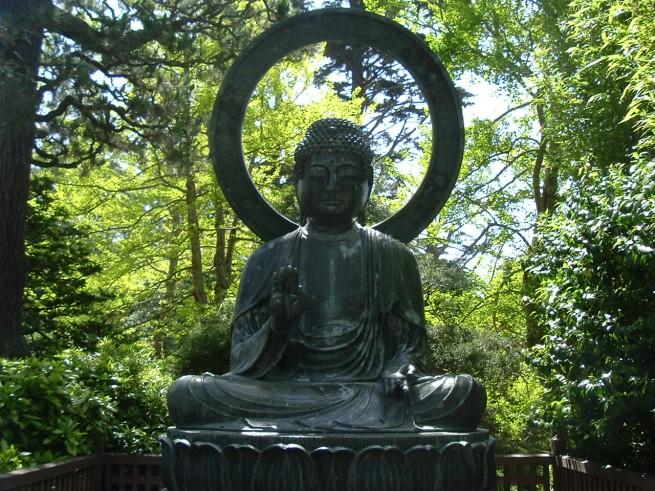 buddha in shadows e1304872641312 A japánkert művészete