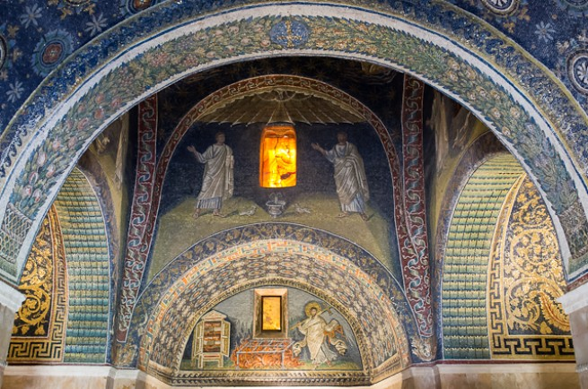 ravennai bizánci mozaikok