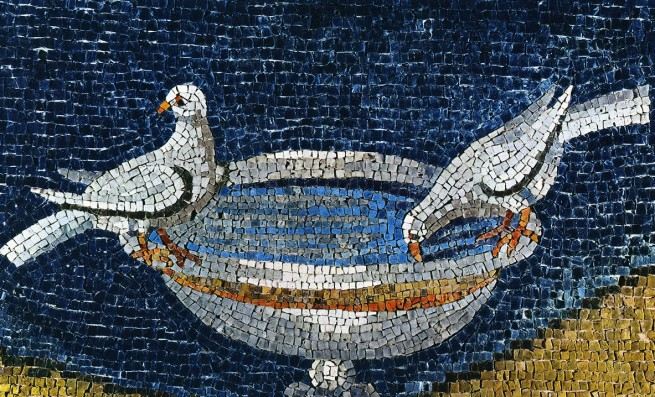 üvegmozaik bizánci mozaik ravenna