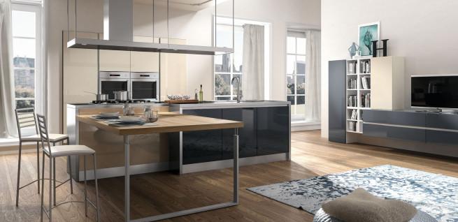 az amerikai konyhák legnagyobb kihívása, nappaliba való integrálásuk