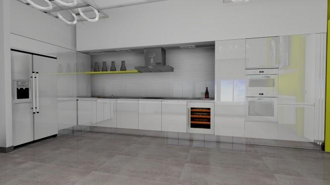 Modern konyhabútor, de hol a felső szekrény? - Inout-Home