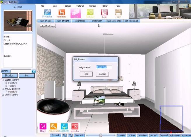 InteriCad lakberendező szoftver
