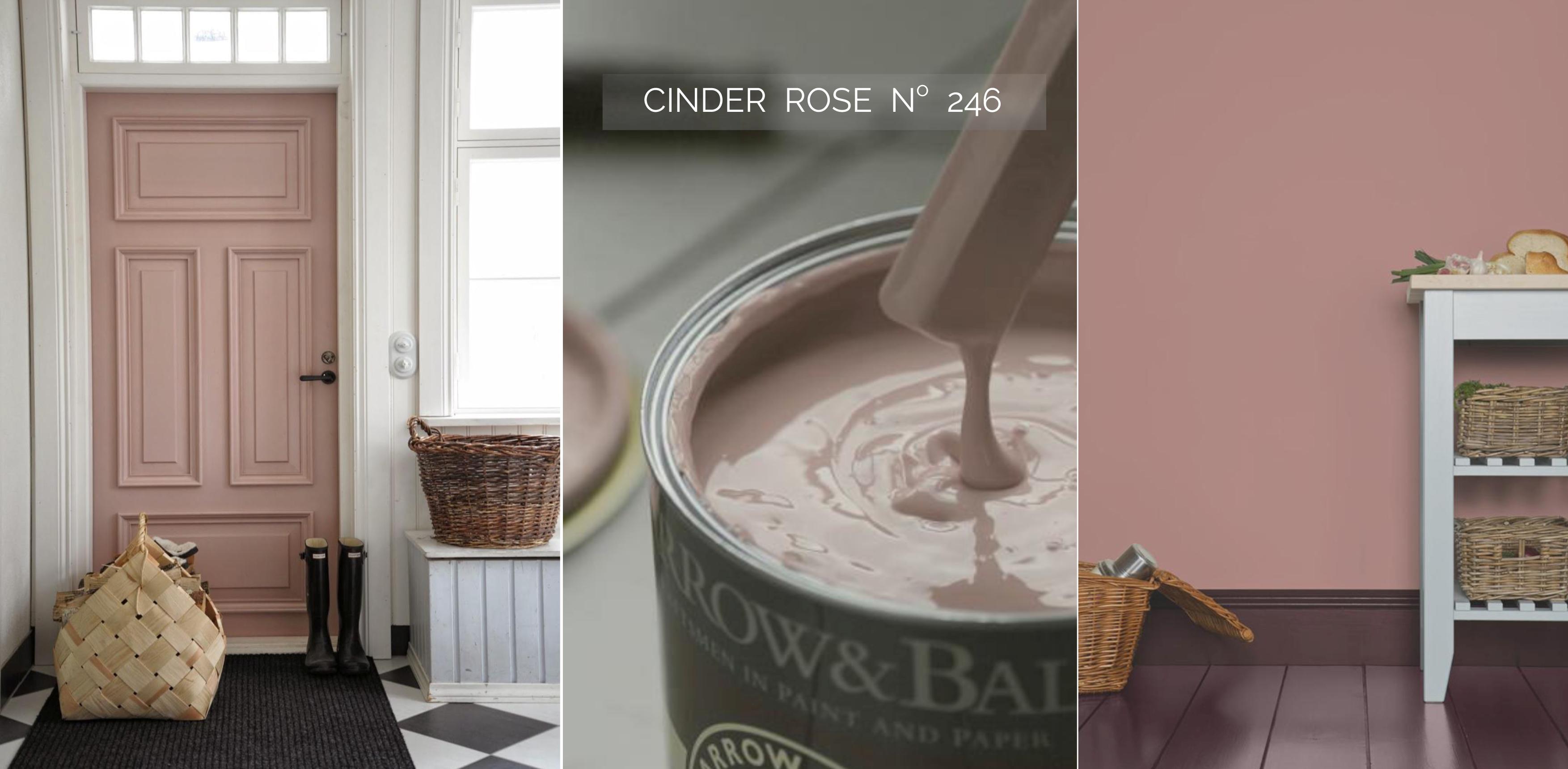 FARROW & BALL CindernRose  festék színek