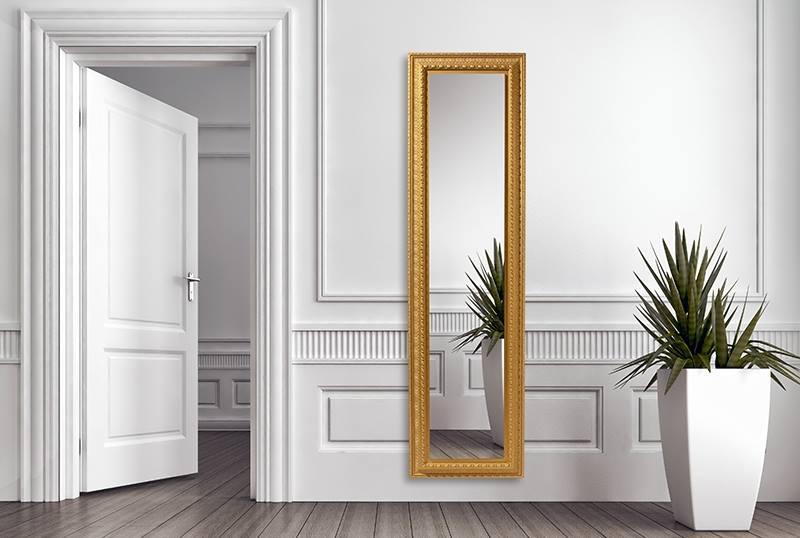 klasszikus megjelenésű design tükör radiátor
