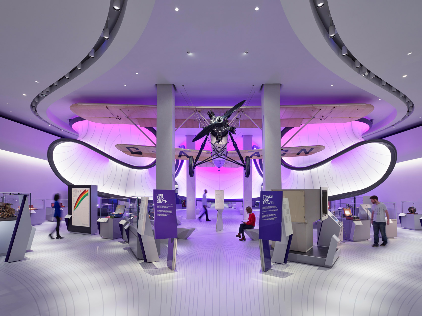 Science Museum, Winton Gallery by Zaha Hadid