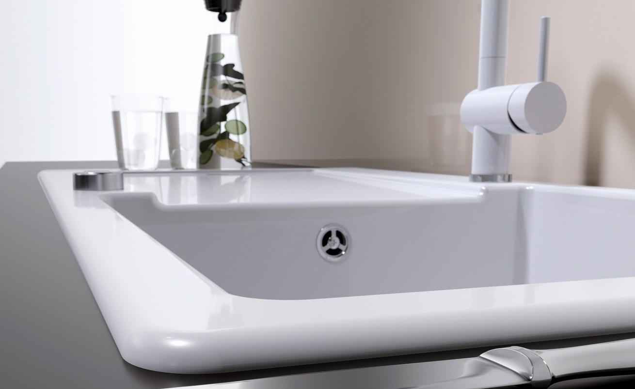 Blanco kerámia mosogatómedence - idento