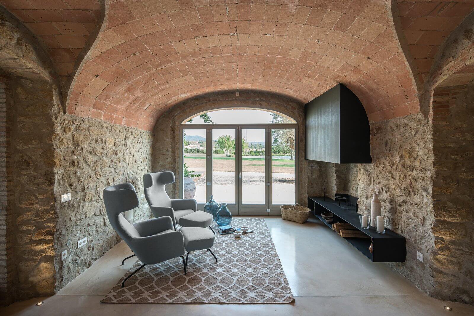 Kortárs FARMHÁZ Spanyolországban - építészet: Gloria Duran Estudio de Arquitectura fotó: Miquel Coll