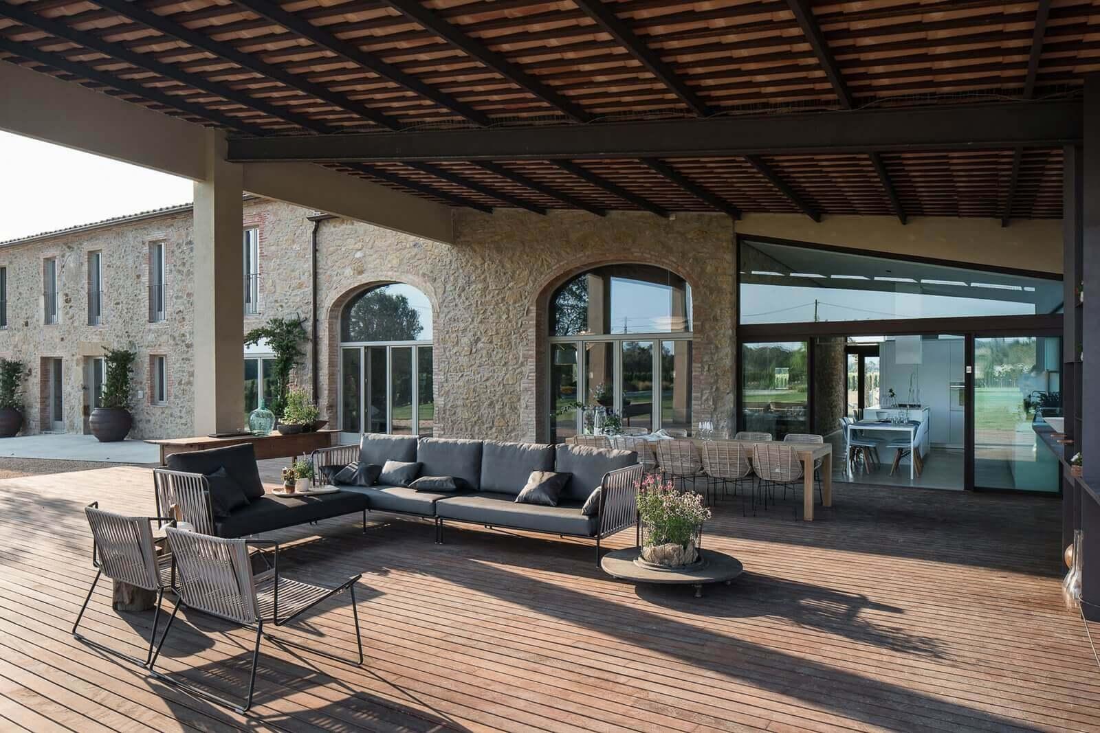 FARMHÁZ Spanyolországban - építészet: Gloria Duran Estudio de Arquitectura fotó: Miquel Coll