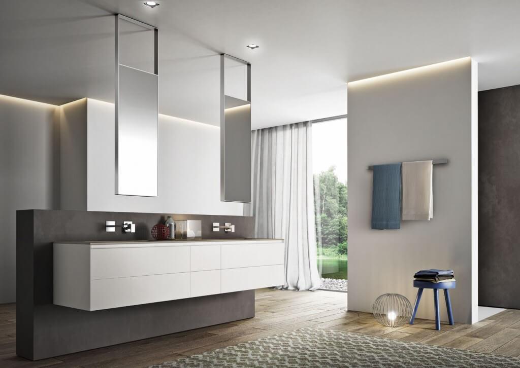 Moduláris fürdőszoba bútor a legújabb alapanyagokból - Inout-Home