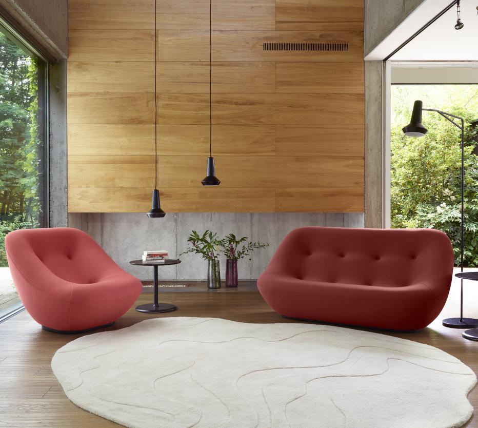 CARACALLA DESIGN DAYS 2018 - LIGNE ROSET / Bonnie kanapé és fotel
