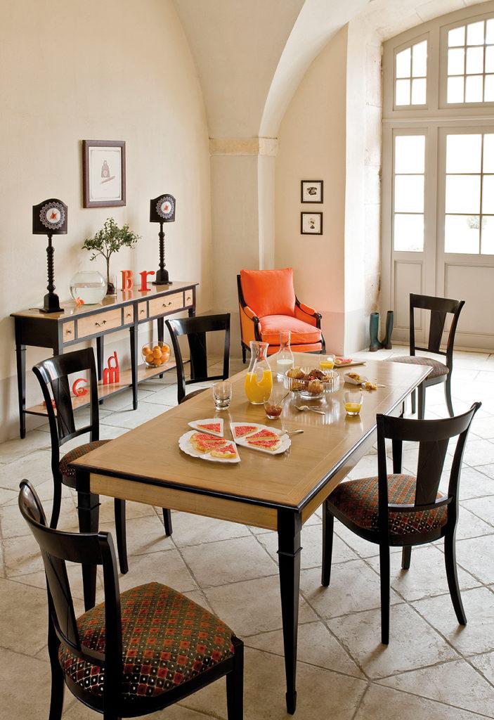 GRANGE DIRECTOIRE étkező és konzolasztal