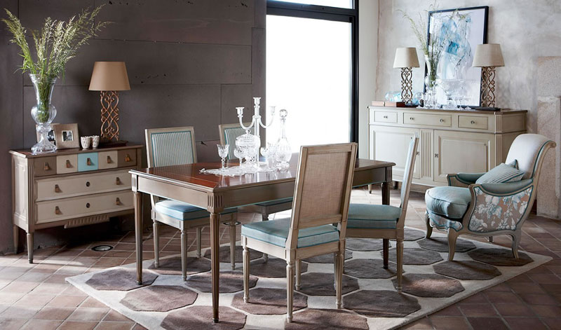 A Jacob színkombinációi minden esetben szép összhangot alkotnak a GRANGE kápitos bútorainak színvilágával.