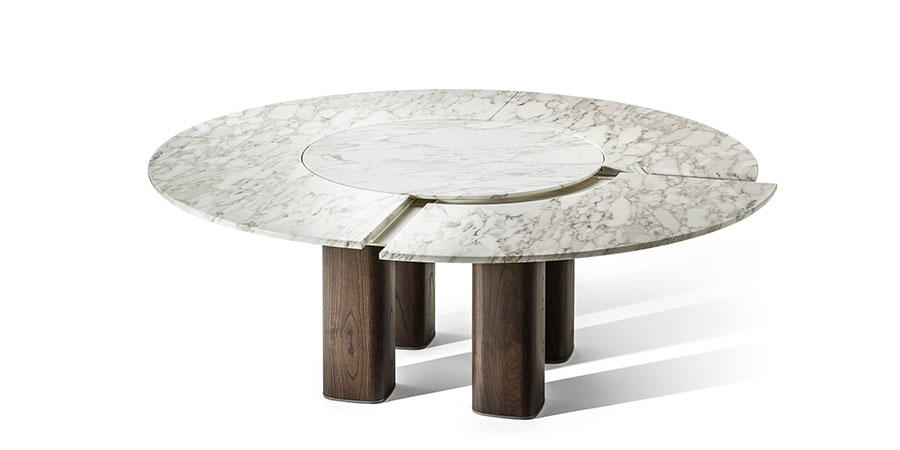 POLTRONA FRAU - Jane / Lazy Susan asztal