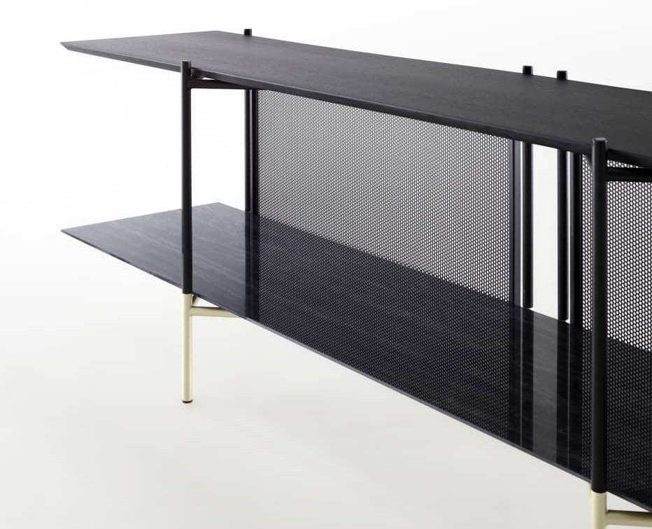 Ligne Roset - Clyde alacsony könyvespolc / TV szekrény