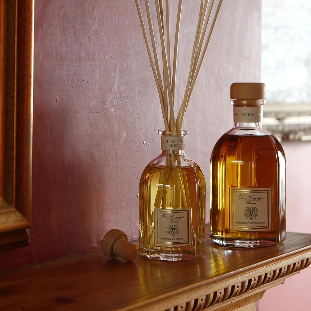 Terra és Chinotto Pepe TRADÍCIONÁLIS illat, diffúzoros, pálcikás formában